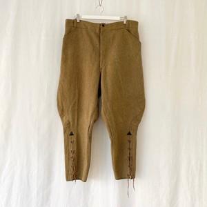 FRANCE 50s~60s~vintage pique jodhpurs pants-DEAD STOCK??-