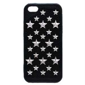 enchanted.LA STAR STUDDED LEATHER COVER CASE #BRILLIANT STAR