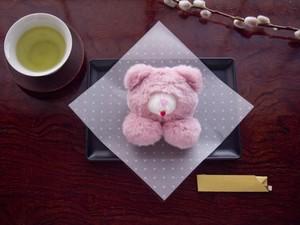 <3/31まで受注受付中>  「元祖ペヘモリッケ焼(ストロベリー味)」ブローチ/バレッタ