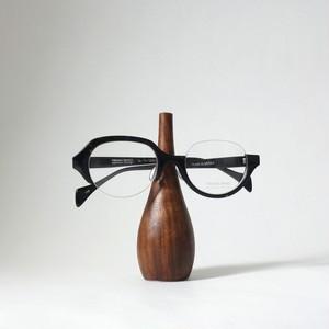 家具職人が作ったウォールナットの眼鏡スタンド[小]