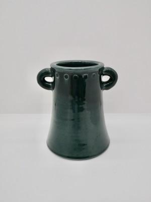 Kloster Keramik(クロステル ケラミック) ブルーグリーンのフラワーベース