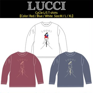 【LUCCI】CYCLE L/S T-shirts