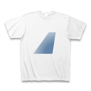 【T-Shirt】Blue Tail  - White (Tシャツ)