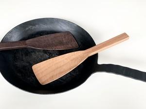 鋸目の炒め用のヘラ