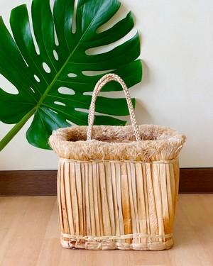 Water hyacinth Bag (水ヒヤシンス) (スクエア)