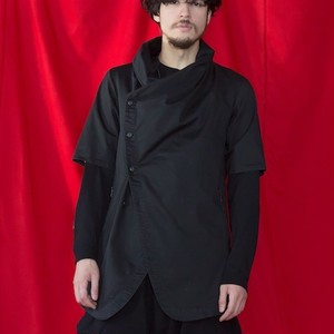 "VIRGO / ヴァルゴ | "" CURVATURE FOREST SHIRTS JKT "" - Black"