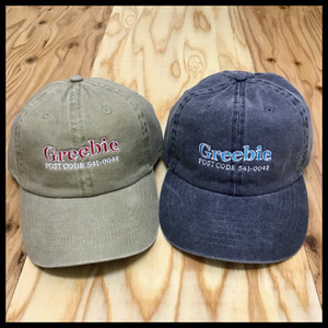 POST CODE 6PANEL CAP【BEIGE/GRAY】