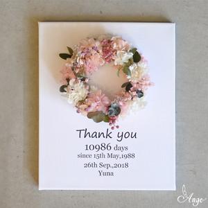 リースボードS贈呈花(ピンク系)