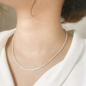 【JORIE】ACCENT silver925necklace 刻印あり
