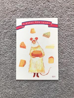 ポストカード「2020 年賀状 cheese」