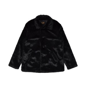 EXAMPLE x SCHOTT FUR JACKET / BLACK