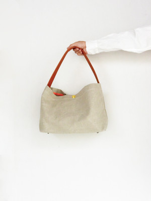 MARINEDAY 「SHIPFLY」 麻帆布ショルダーBAG