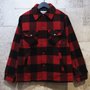 SOPHNET × LEE 16AW BLOCK CHECK BLOUSON