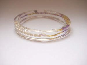 circle bangle {good luck bracelet} [C-005]