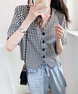 レトロチェックシャツ