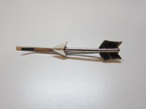 <SALE 30%off>silver arrowヘアピン