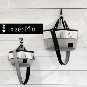 [限定数販売・mini]  LOZZ SANDRA × STANDARD STORE W ネームトート