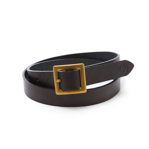 EVISEN WYE LEATHER BELT BLACK