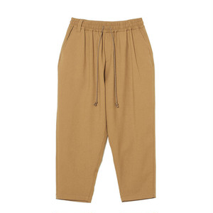 STRETCHED TAPERED SAROUEL PANTS - BEIGE
