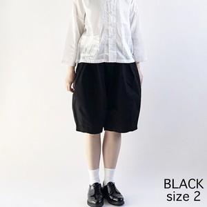 【HARVESTY】CIRCUS SHORT PANT (BLACK) (UNISEX) ショートパンツ サーカスショートパンツ ユニセックス 日本製