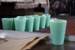 35%OFF<3個セット>【東京謹製】Tokyo style Milk-glass tumbler <Jade>