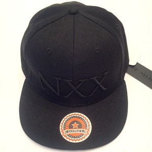 XX Embroidery Cap Black