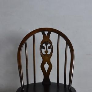 Ercol Thistleback Chair 【B】 / アーコール シスルバック チェア 〈ダイニングチェア・デスクチェア・椅子・コロニアル〉 112178