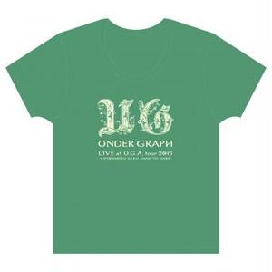 Tシャツ「UNDER GRAPH LIVE at U.G.A. tour 2015 ~君らしく咲く花となれ~」