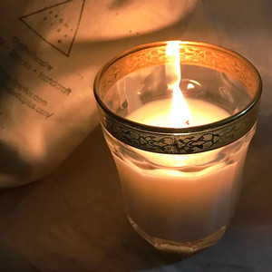 【secret SALE】Aroma soy candle(コットンポーチ付き)