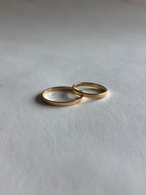 <受注生産>classic K18 ring (#15/17)