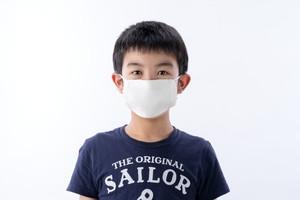 【お子様用】【平面型】息らくらく♪涼やか絹マスク「L」3枚(受注生産)