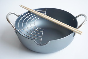 天ぷら鍋(リバーライト_アウトレット)