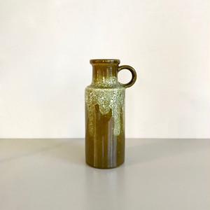 "Vintage W.Germany Pottery Vase ""Scheurich"" 401-20 西ドイツ"