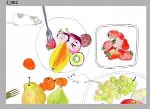 ポストカードセット landscape and food 1