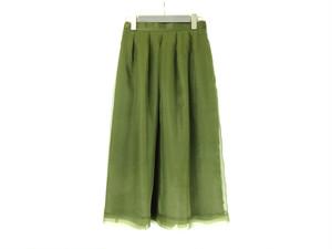 シルクオーガンジースカート