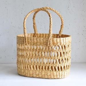 インド マニプール水草かごバッグ