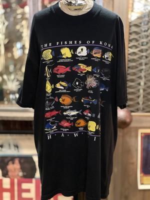 ハワイ アメリカ USA コナ 魚 熱帯魚 fish KONA tシャツ