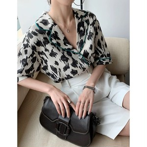 leopard pattern shirt