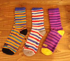 TEAM DREAM Hand Stripe SOCKS
