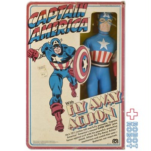 MEGO キャプテン・アメリカ 12インチ アクションフィギュア 開封