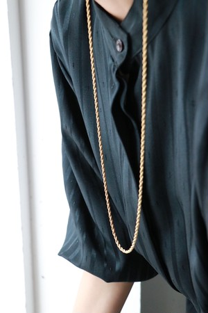Givenchy gold tone chain necklace