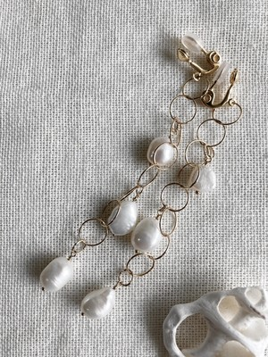 14kgf ring line × Pearl