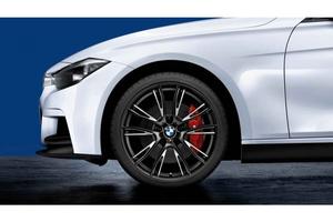 BMW純正 ///M Performance LM ホイール ダブルスポーク624M 20インチ マットブラック 3 Series F30 F31 F32 F33 F36