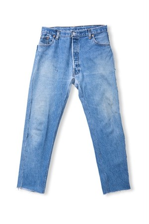 Leh Re:4nd Denim Pants (Indigo / size:M) [LEH_708]