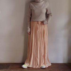 Viscose Washer Skirt / ワッシャー ロング スカート