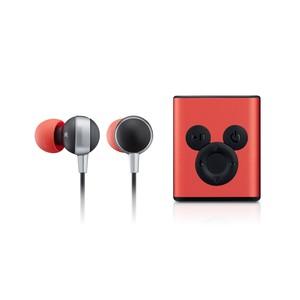 InfoThink Bluetooth イヤホン ディズニー 90th アニバーサリーミッキー  BSP500(Red)