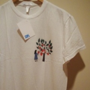 "2K BY GINGHAM |【超特価SALE!!!】"" STRAWBERRY TREE "" Tee - Offwhite"