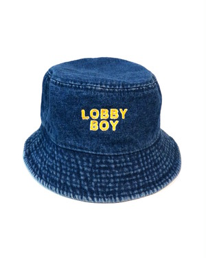 LOBBY BOY  denim bucket hat