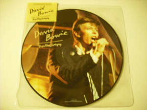 "【7"" PICTURE DISC】DAVID BOWIE / BOYS KEEP SWINGING"