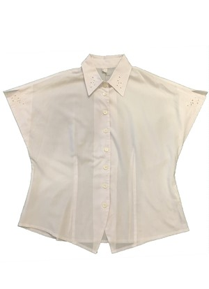 Euro Vintage White shirt 半袖 BL9